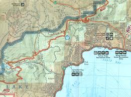 Lake Pleasant Map Trt In Fourteen Days Part 2 Brockway Trailhead Watson Lake 6 7