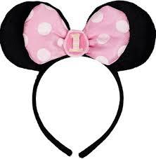 number 1 headband roseoftheparty rakuten global market minnie mouse hair band 1