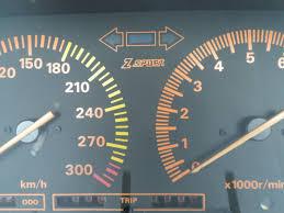 Z Sport Jdm Instrument Cluster 300kph Speedo 10 000 Rpm Tach