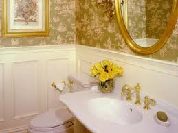 Wallpaper Ideas For Small Bathroom Small Bathroom Decorating Ideas Hgtv