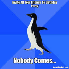 Create Your Memes - invite all your friends to birthday party create your own meme