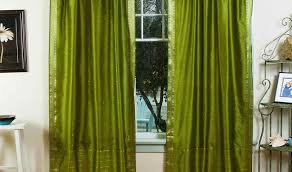 Emerald Curtain Panels by Acclaim Curtain Panels Tags Green Curtains Walmart Green Silk