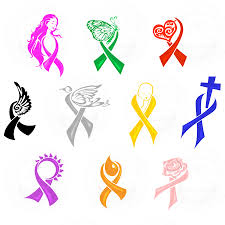 awareness butterfly ribbon clipart