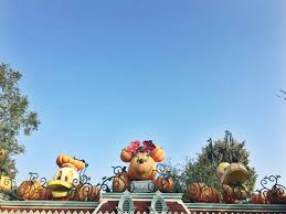 disneyland during halloween time