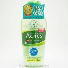Toner Acne mentholatum acnes medicated powder toner 120ml with vitamin c e for