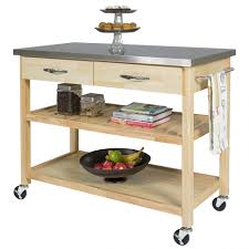 kitchen island metal kitchen islands small stainless steel cart metal rolling kitchen