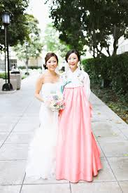 traditional korean wedding dress luxury brides