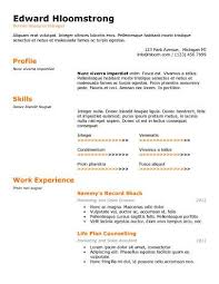 Free Resumes Templates Online by 461 Best Resume Templates And Samples Images On Pinterest Resume