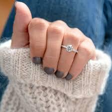 diamond ring cuts choosing engagement ring cuts square vs hearts on
