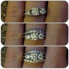 gaudy engagement rings gaudy wedding rings can you ruin the look of your engagement ring