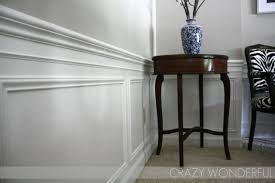 dining room molding reveal crazy wonderful