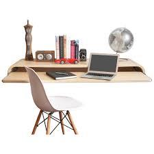 Unfinished Desk Small Floating Deskloft Office Room Using Unfinished Wooden With