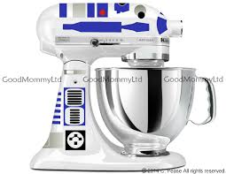r2d2 wedding ring r2d2 decal kit for your kitchenaid stand mixer wars
