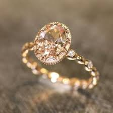 gold vintage engagement rings morganite wedding ideas collections