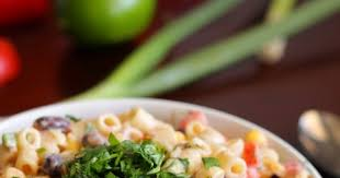 Mexican Pasta Salad Eat Cake For Dinner Mexican Pasta Salad