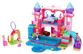 amazon mega bloks barbie u0027s underwater castle toys u0026 games