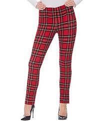 Red Womens Casual  Dress Pants  Dillards