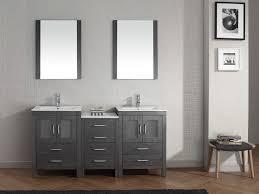 My Painted Bathroom Vanity Before - the grey bathroom vanity bianca 60u2033 grey double bathroom vanity with dark gray bathroom vanity ideas jpg