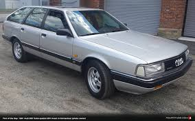 audi 200 avant find of the day and low mileage 1991 audi 200 turbo quattro