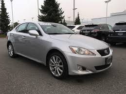 used lexus in vancouver bc used 2008 lexus is 250 awd leather moonroof pkg for sale in surrey