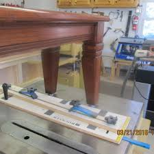 how to taper 4x4 table legs taper straight line jig rockler woodworking and hardware