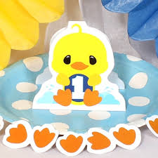 duck decorations rubber ducky 1st birthday party supplies