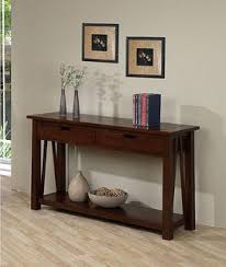 Living Room Console Table Best Home Ozark Modern 2 Drawer Sofa Console Table