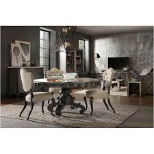 60 In Round Dining Table 1610 75002 Gry Hooker Furniture 60in Round Pedestal Dining Table