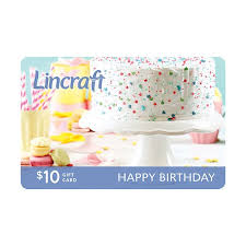 happy birthday gift card 10 gift cards lincraft