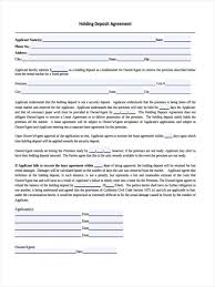 of car deposit agreement template leave application form for office