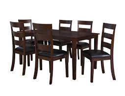 powell furniture wayfair linville 7 piece dining set