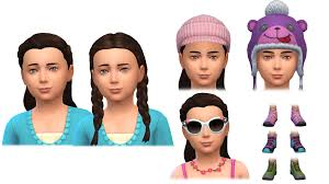sims 4 kids hair the new clothing and hairstyles in sims 4 outdoor retreat