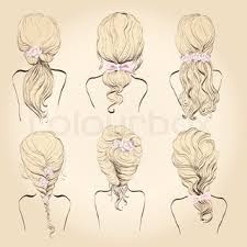 set of different hairstyles wedding hairstyles hair styles with