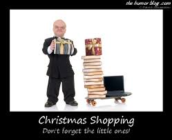 christmas shopping funny midget caption picture