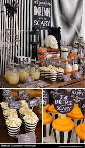 halloween party table decorations easy diy halloween decorations