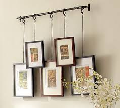 Easy Way To Hang Curtains Decorating Clever Way To Frame Hanging From A Curtain Rod And The Frames
