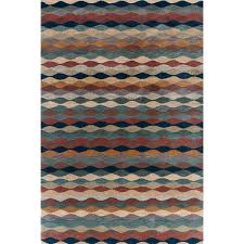 Latex Rug Gripper Ripple Cinnamon Wool Tufted Rug The Outlet