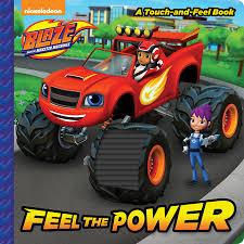 feel power blaze monster machines random house
