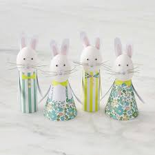 meri meri rabbit meri meri egg decorating kit williams sonoma