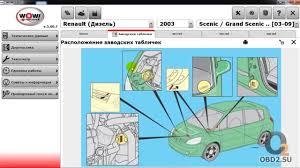 обзор программы wurth wow для диагностики авто autodata на