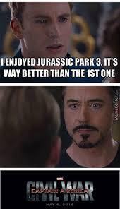 Jurassic Park Birthday Meme - but jurassic park 3 sucks though by recyclebin meme center