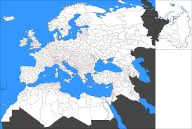 Blank Middle East Map by A Blank Map Thread Page 176 Alternate History Discussion