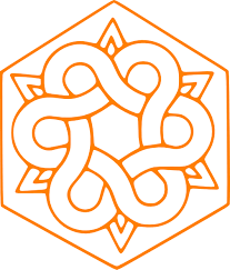 orange ornament clip at clker vector clip