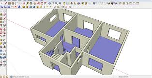 surprising design floor plan sketchup 10 sketchup plans home act