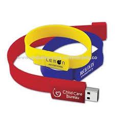 drive bureau china silicone wristband usb flash drive from shenzhen manufacturer