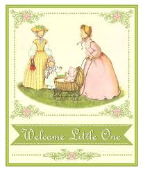free vintage baby shower printables from printabelle catch my party