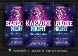 party flyer free karaoke party flyers free psd eps vector format download