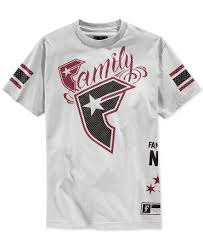 and straps family logo graphic t shirt