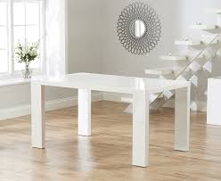 white high gloss table buy mark harris metz white high gloss dining table 120cm online