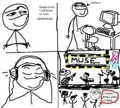 Muse Meme - muse radiohead know your meme